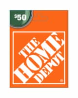 Home Depot $50 Gift Card