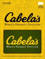 Cabela's $15-$500 Gift Card - After Pickup, visit us online to activate and add value
