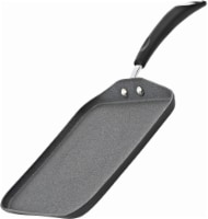 Bialetti Impact Nonstick Square Griddle - Black