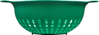 GoodCook® Plastic Colander - Green