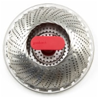 GoodCook® Pro Steamer Basket - Silver/Red