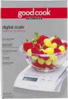 Good Cook Precision Digital Food Scale - White
