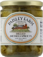 Paisley Farm Dilled Brussel Sprouts - 16 fl oz