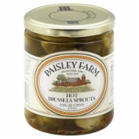 Paisley Farm Hot Brussels Sprouts - 16 fl oz