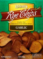 Pinahs Garlic Rye Chips