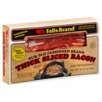 Falls Brand Hardwood Smoked Thick Sliced Bacon - 32 oz