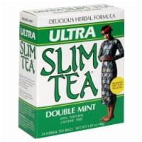 Ultra Slim Tea Double Mint Herbal Tea Bags