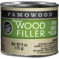 Famowood  Oak/Teak  Wood Filler  6 oz. - Case Of: 1; - Count of: 1