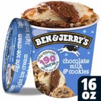 Ben & Jerry's Chocolate Milk & Cookies Moo-Phoria! Ice Cream