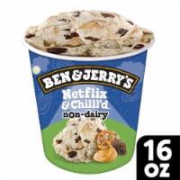 Ben & Jerry's Vegan Non-Dairy Frozen Dessert Netflix & Chilll'd