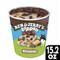 Ben & Jerry's Topped Tiramisu Ice Cream