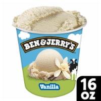 Ben & Jerry's® Vanilla Ice Cream - 1 pt