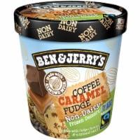 Ben & Jerry's Vegan Non-Dairy Frozen Dessert Coffee Caramel Fudge