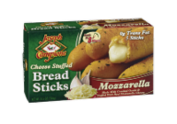 Joseph Campione Mozzarella Cheese Stuffed Bread Sticks