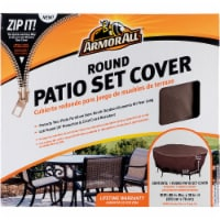 Armor All® Round Patio Set Cover - Brown