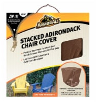 Armor All® Stacked Adirondack Chair Cover - Brown