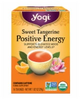 Yogi Sweet Tangerine Positive Energy Tea Bags