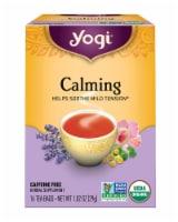 Yogi Organic Calming Caffeine Free Tea Bags - 16 ct