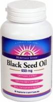 Heritage Store Black Seed Oil Liquid Capsules 650 mg