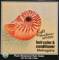 Light Mountain Mahogany Hair Color & Conditioner