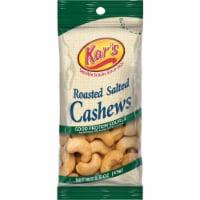 Kar's Salted Cashews Cashews 1.5 oz. Bagged - Case Of: 12; Each Pack Qty: 18