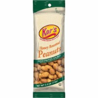 Kar's 2.5 Oz. Honey Roasted Peanuts 120828 Pack of 12