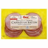 Rose Naturally Smoked Canadian Bacon - 6.4 oz