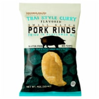 Southern Recipe Thai Style Curry Flavored Pork Rinds