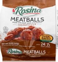 Rosina Homestyle Meatballs with Beef Pork & Chicken - 12 oz