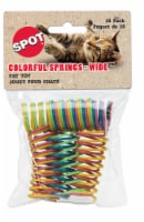 Spot Colorful Springs-Wide Cat Toy - 10 pk