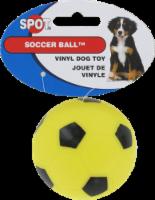 Spot Soccer Ball Vinyl Dog Toy