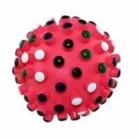 Ethical Vinyl Gumdrop 5in Ball Dog Toy