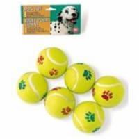 Spot Paw Print Tennis Balls Pack