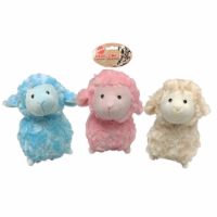 Spot Snuggle Lamb Pastel Bunny Plush Dog Toy - Assorted