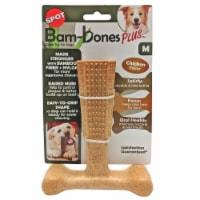 Spot Bam-Bones Plus Medium Chicken Flavor Dog Chew Toy