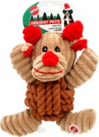 Spot Holiday Pets Reindeer Dog Toy