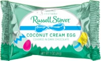 Russel Stover Dark Chocolate Covered Coconut Cream Egg