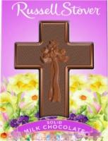 Russel Stover Solid Milkk Chocolate Cross