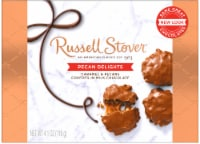 Russell Stover Pecan Delights Covered in Milk Chocolate