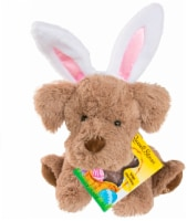 Russell Stover Coco Plush with Milk Chocolate Bunny