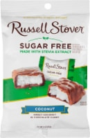 Russell Stover Sugar Free Chocolate Covered Coconut Candy - 3 oz