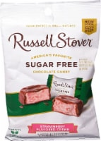 Russell Stover Sugar Free Strawberry Flavored Creme Chocolate Candies - 3 oz