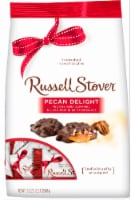 Russell Stover Milk Chocolate Pecan Delights Gusset Bag
