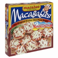 Macabee's Kosher Foods Mini Pizza Bagels - 7 oz