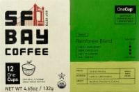 San Francisco Bay Organic Rainforest Blend Coffee OneCups - 12 ct / 4.65 oz