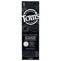 Tom's of Maine Activated Charcoal Anticavity Toothpaste