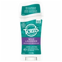 Tom's of Maine Long Lasting Wild Lavender Deodorant Stick