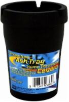 Custom Accessories Smoke-Free Ash Tray - Black