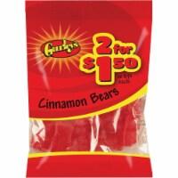 Gurley's 3.5 Oz. Cinnamon Bears Candy 19056 Pack of 12 - 3.5 Oz.