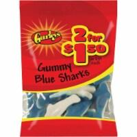 Gurley's 2.25 Oz. Blue Sharks Gummy 19064 Pack of 12 - 2.25 Oz.